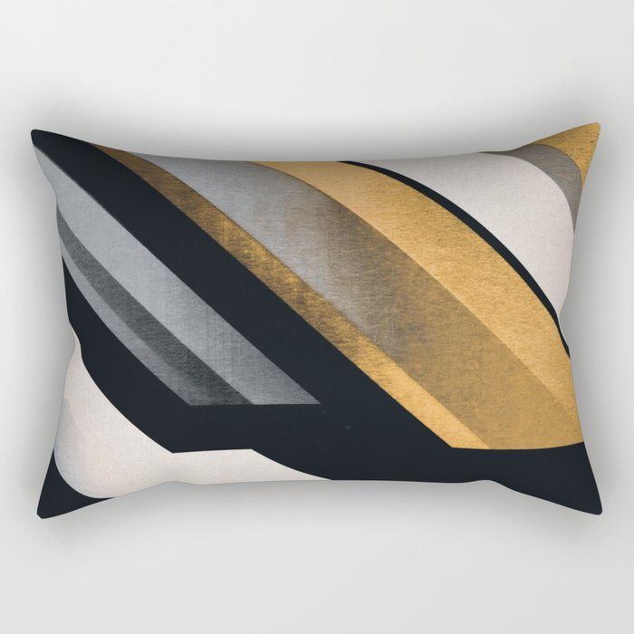 ABSTRACT 9c Rectangular Pillow