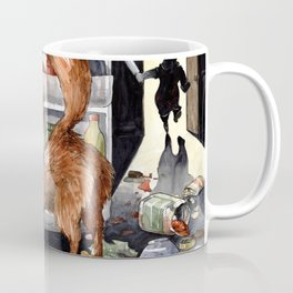 It is the foxy fennec who purged whole fridge Coffee Mug