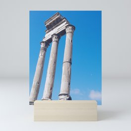 Ancient Pillars Mini Art Print