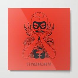Technailogic Metal Print