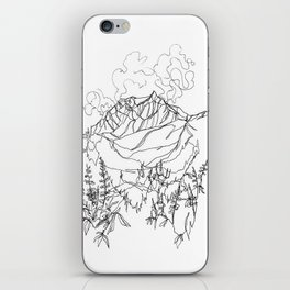 Lupine Time :: Single Line iPhone Skin