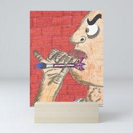 Paint Darts Mini Art Print