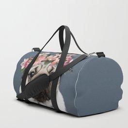 Hippie Pug Duffle Bag