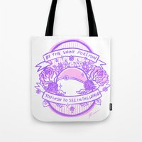 kendrawcandraw Tote Bags featuring Be the Shiny by kendrawcandraw