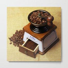 coffee grinder 3 Metal Print