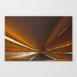 Traffic in warp speed Canvas Print