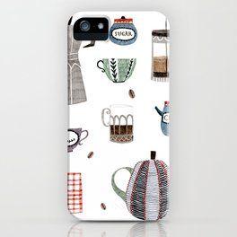 Coffee and Tea iPhone Case