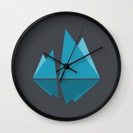 Floating Night Wall Clock