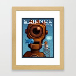 Science Mysteries Framed Art Print