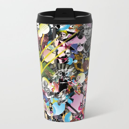 NURAVE Metal Travel Mug