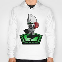 battlestar galactica Hoodies featuring The Hitchhikers Guide to the Galactica by JVZ Designs
