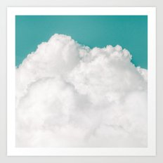Dreaming Of Mountains Art Print