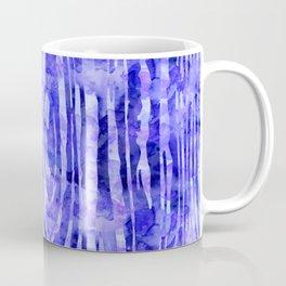 Purple Wood Print Coffee Mug