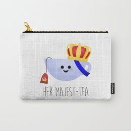Her Majest-tea Carry-All Pouch