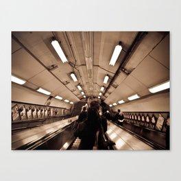 Underground. Canvas Print
