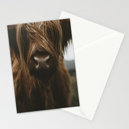 Scottish Highland Cattle Stationery Cards