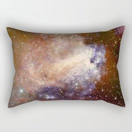 Deep-space nebula Rectangular Pillow
