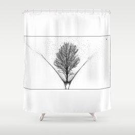 asc 924 -  Le futur est féminin (Genesis) Shower Curtain