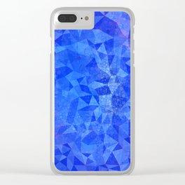 Right Brain Ambassador in Blue Clear iPhone Case
