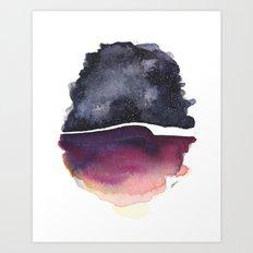 Star Egg Art Print
