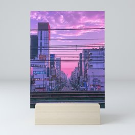 Tokyo Skies Mini Art Print