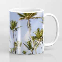 Palmy Blue. Coffee Mug