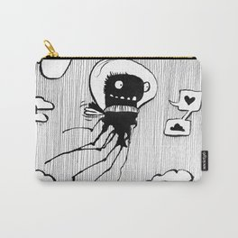 Flying squid – Seppiolina volante Carry-All Pouch