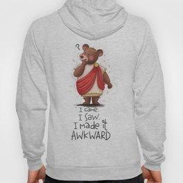 Awkward Bear Hoody