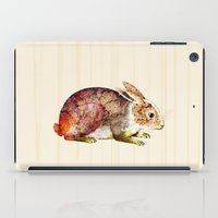 bunny iPad Cases featuring Bunny by TatiAbaurreDesigns