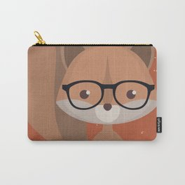 Hipster Squirrel Carry-All Pouch