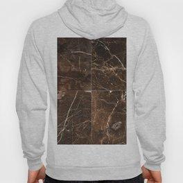 Brown Granite Squares Hoody
