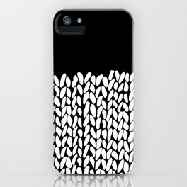 Half Knit iPhone Case