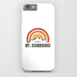 Mt. Kilimanjaro iPhone Case