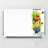 minion iPad Cases featuring Minion by Siney