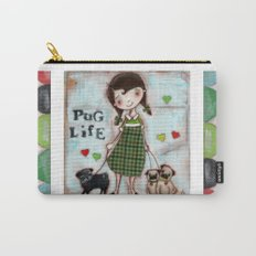 Pug Life - by Diane Duda Carry-All Pouch