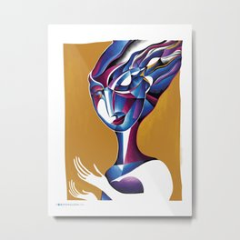 Element: Breath Metal Print