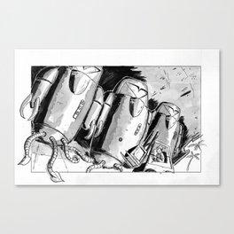 Alien Trouble Canvas Print