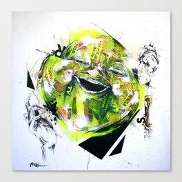 relief Canvas Print