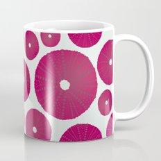Sea's Design - Urchin Skeleton (Deep Pink) Mug
