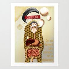 L'homme Moderne Art Print