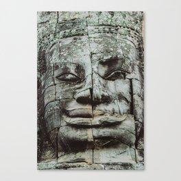 Buddha mosaic Canvas Print