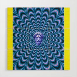 Psychedelic Wood Wall Art