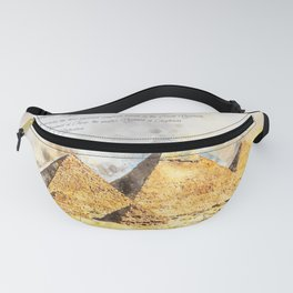 Pyramides of Giza, Egypt Fanny Pack