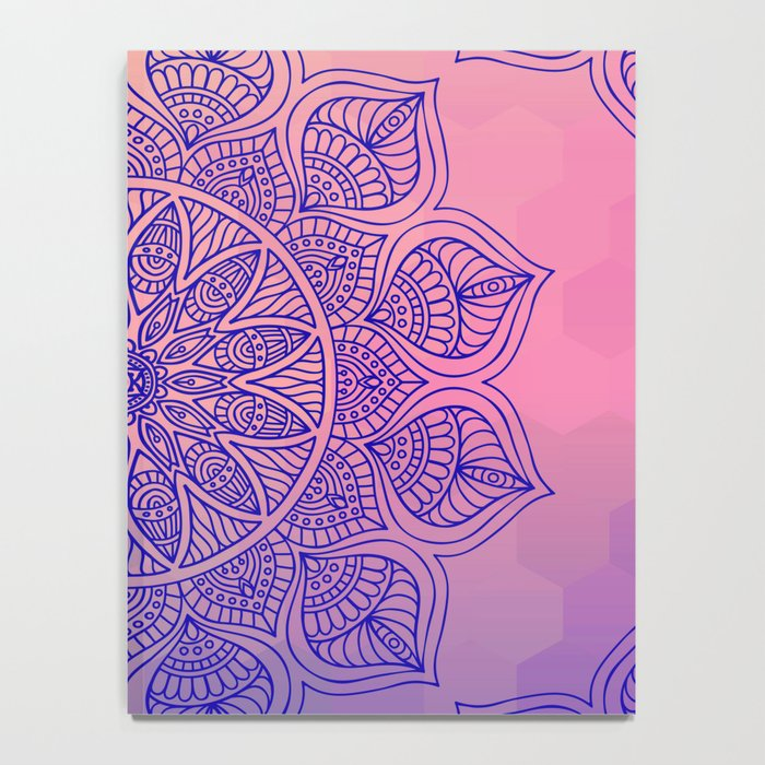 Mild Mandala Notebook