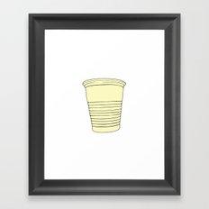 Cup Framed Art Print
