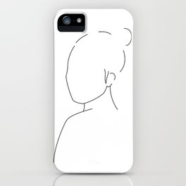 About a girl Ⅰ iPhone Case