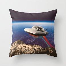 Sky mountain Throw Pillow