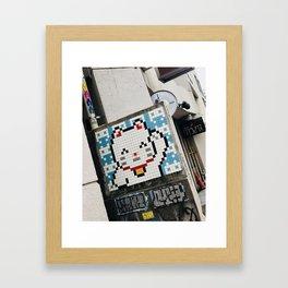 Konichiwa Framed Art Print