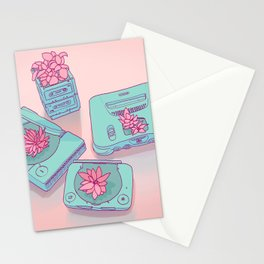 Flowers & Consoles Stationery Cards