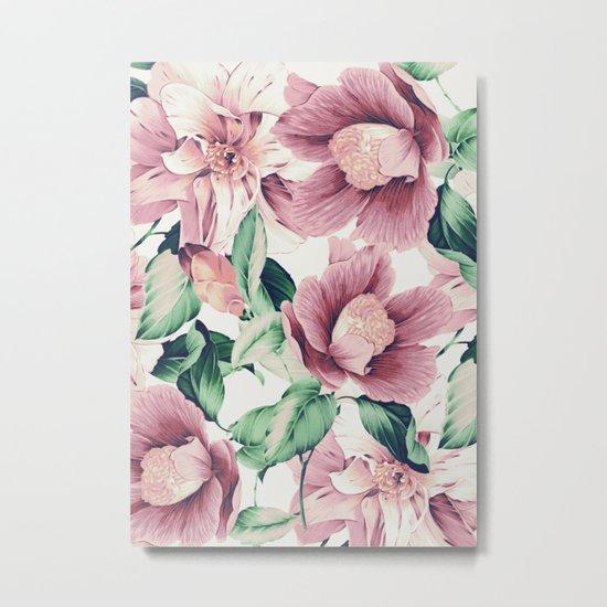 FLOWERS 10a Metal Print